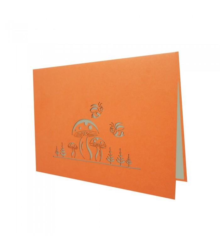 Love in Paris - metallic paper